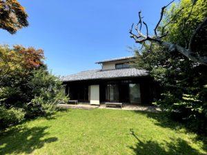 鎌倉、日本家屋と別邸の茶室がある家