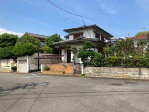 鎌倉の庭付き一戸建て